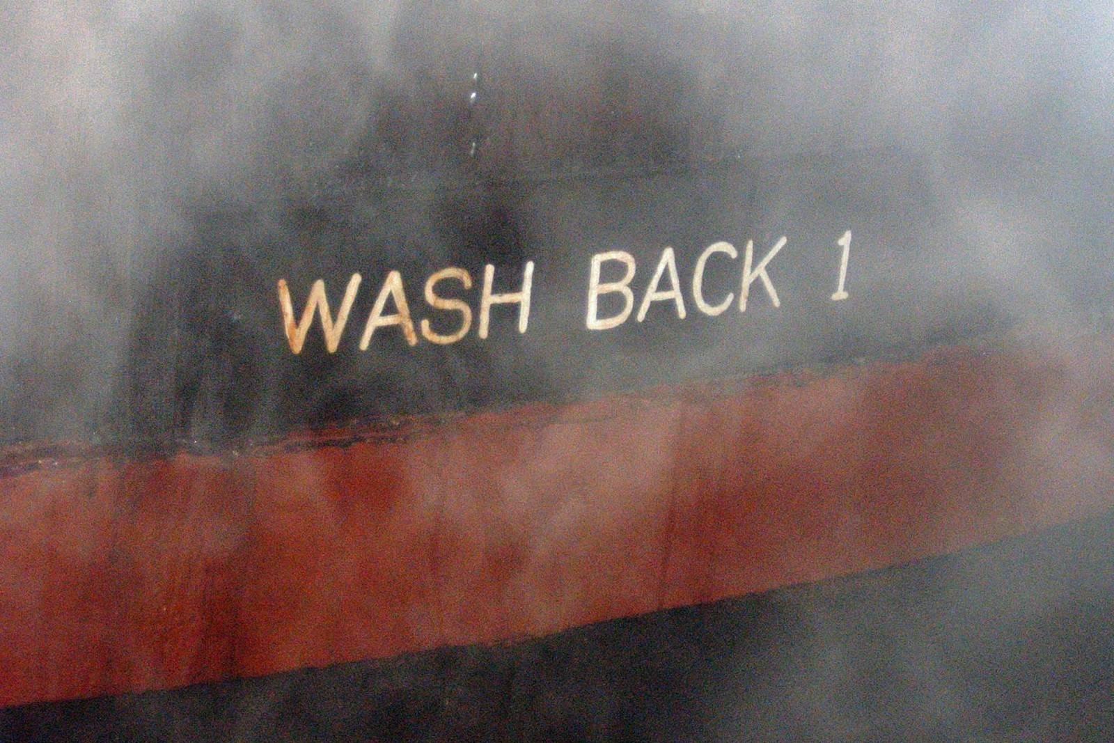 Washback No. 1 bei Bruichladdich
