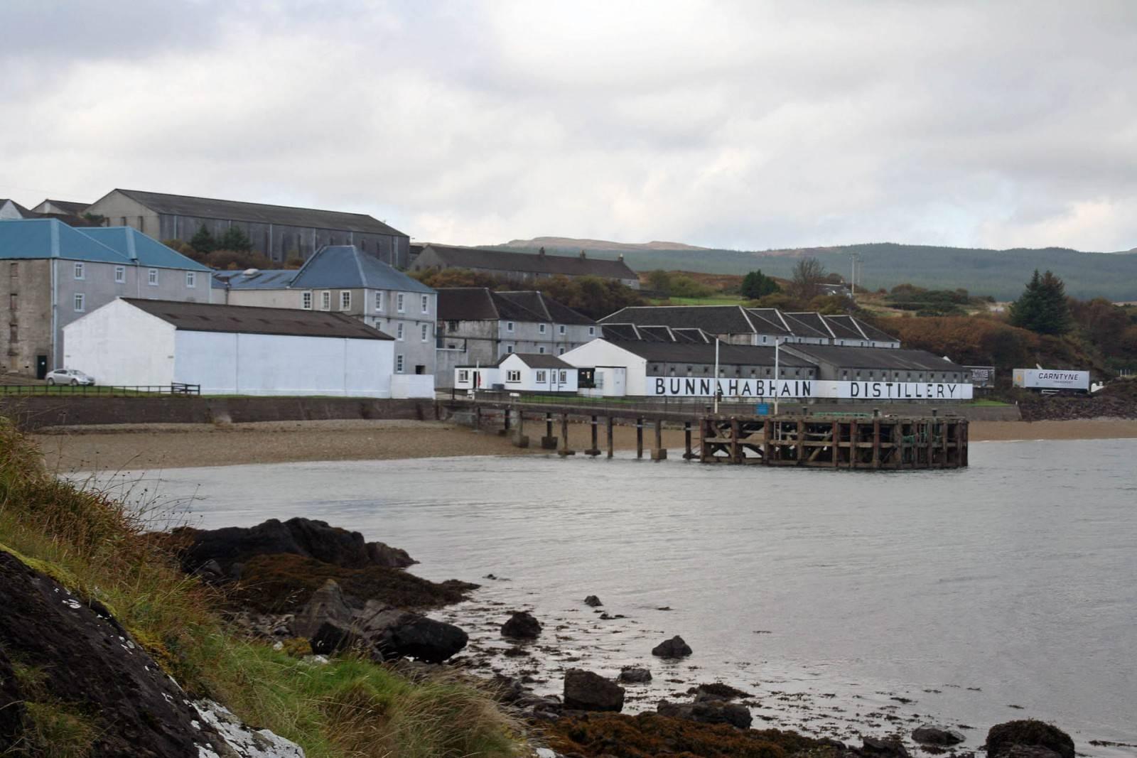 Bunnahabhain am Sound of Islay