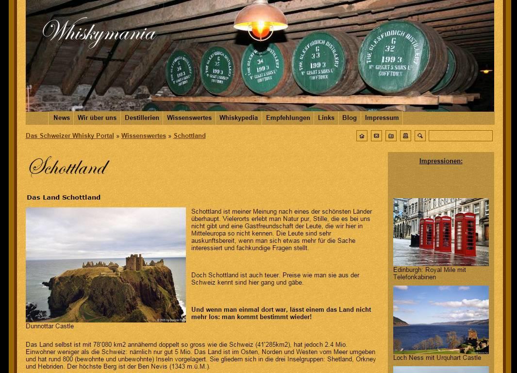 Alte Typo/3 Website