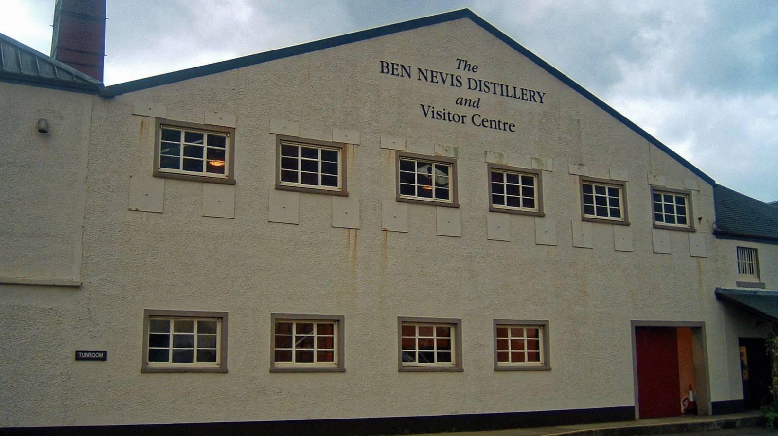Ben Nevis Brennerei Eingang