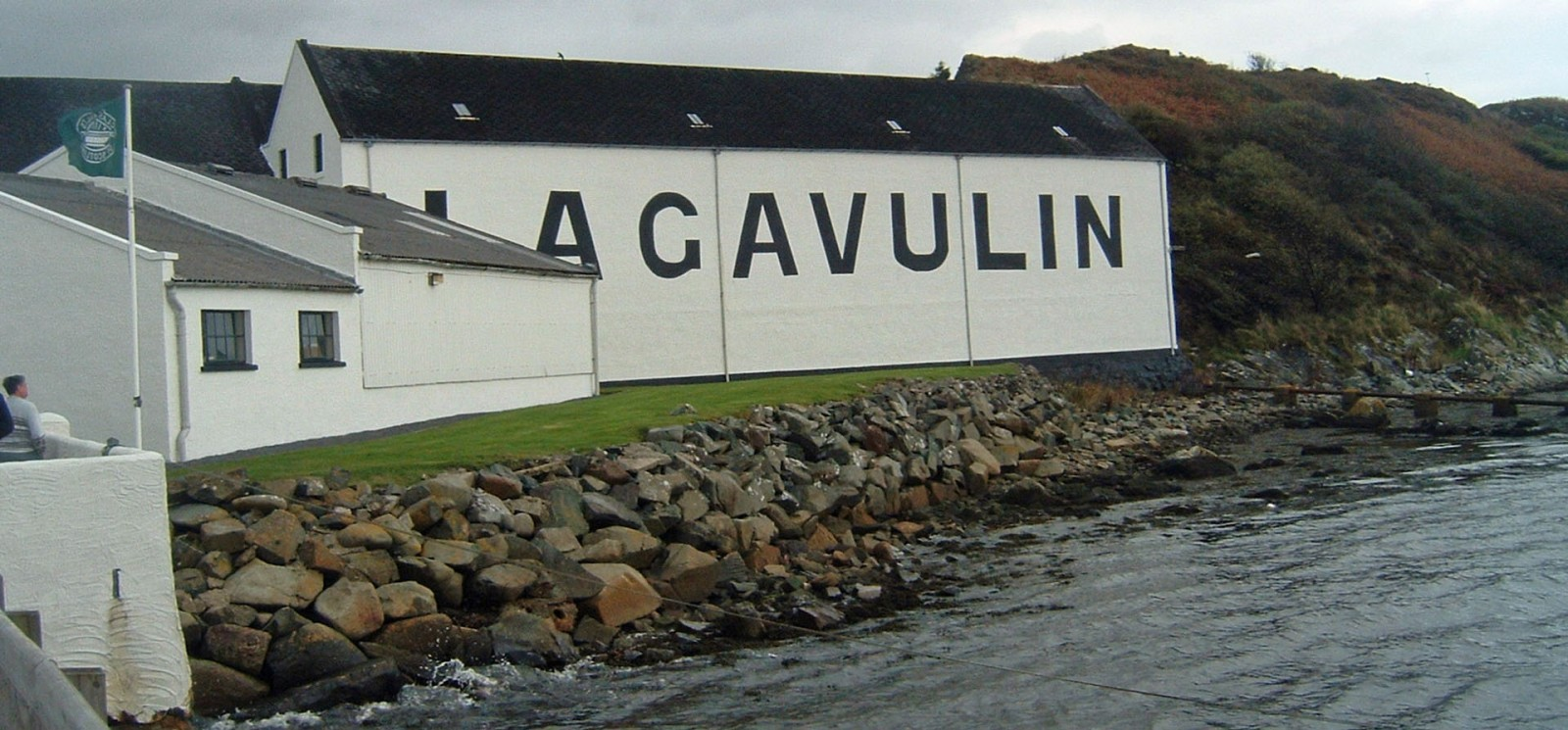 Lagvulin Lagerhaus am Meer