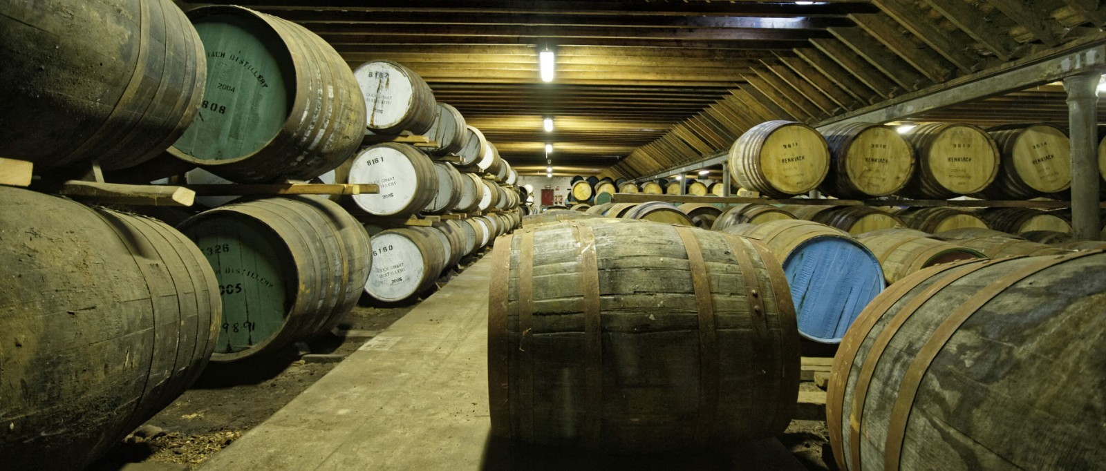 BenRiach Warehouses/Fasslager