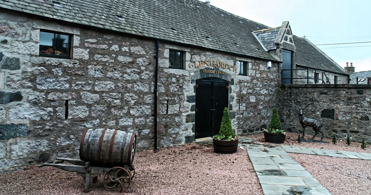 Glen Garioch Besucherzentrum
