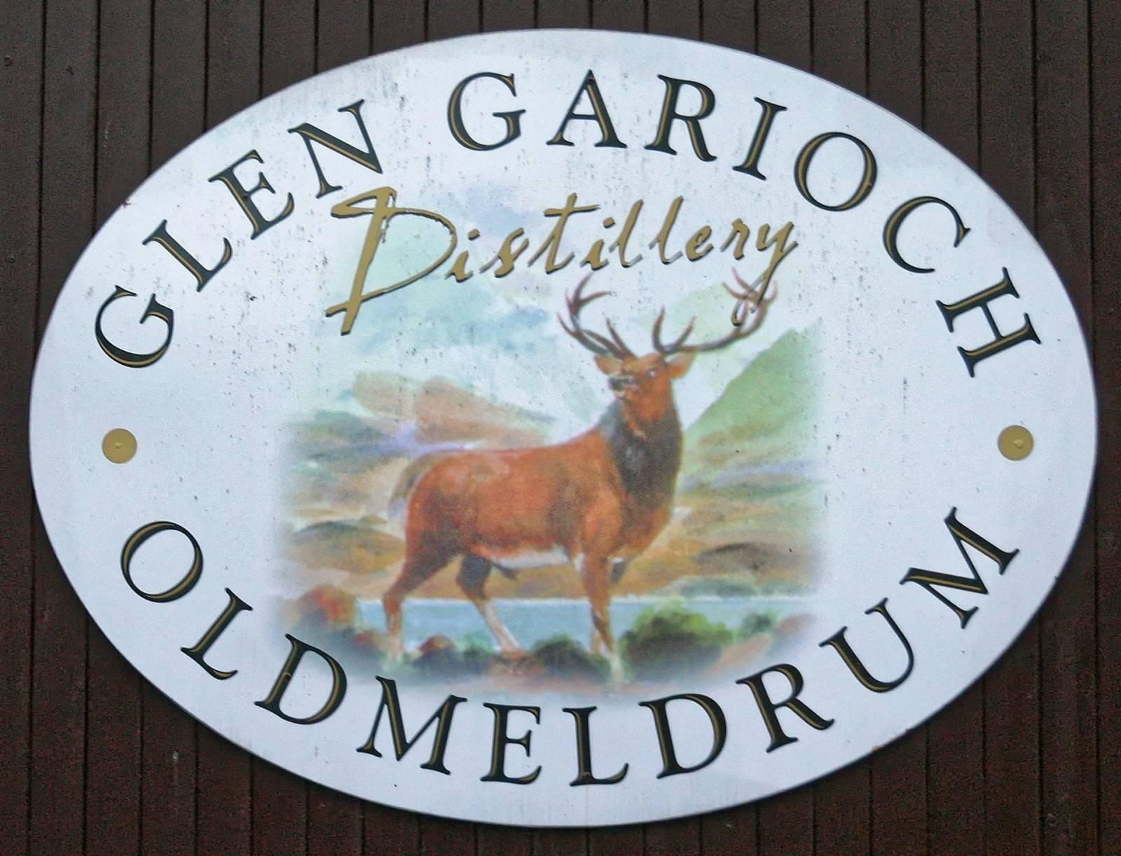 Glen Garioch Schild