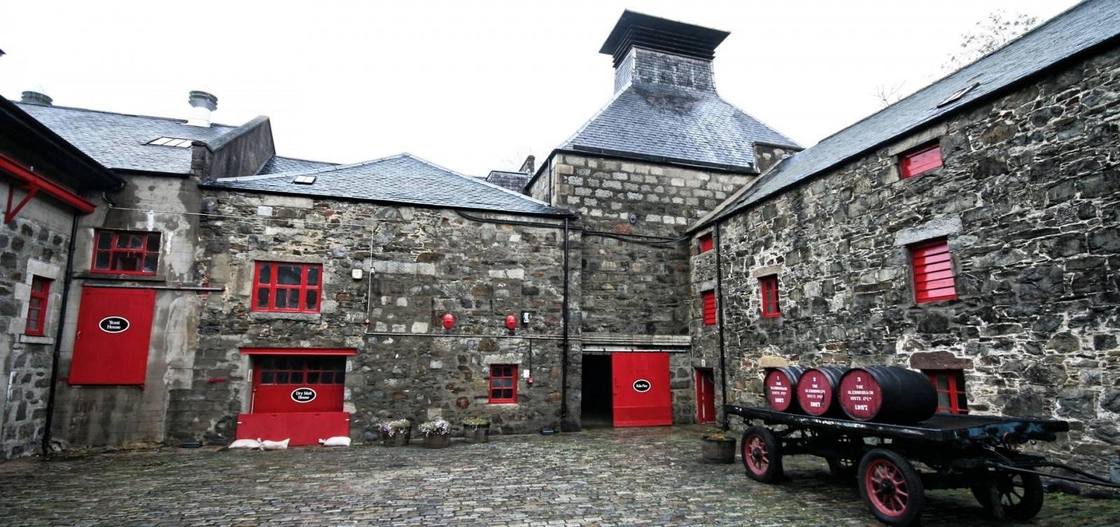 GlenDronach Kiln und Maltings