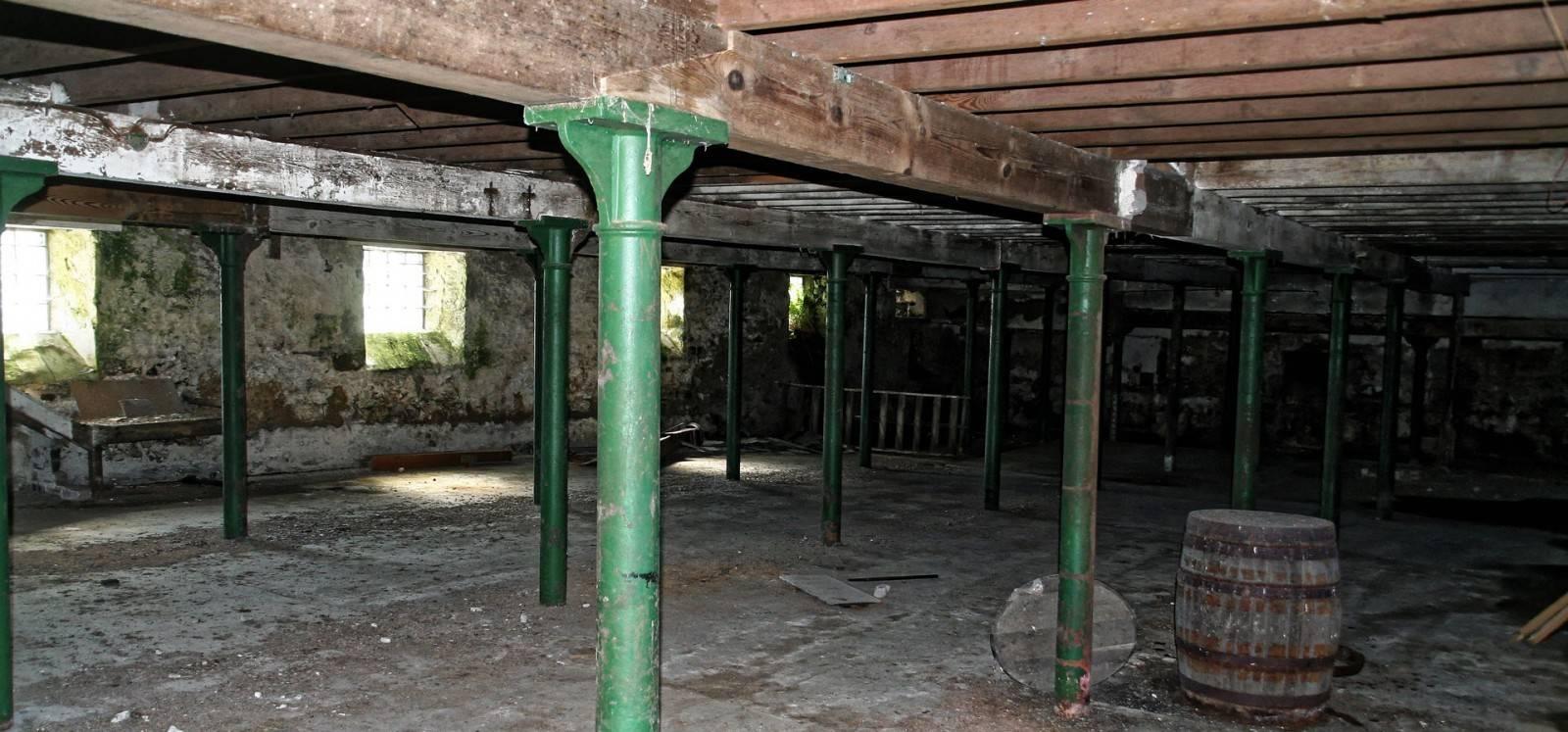 Glenglassaugh Maltingfloor