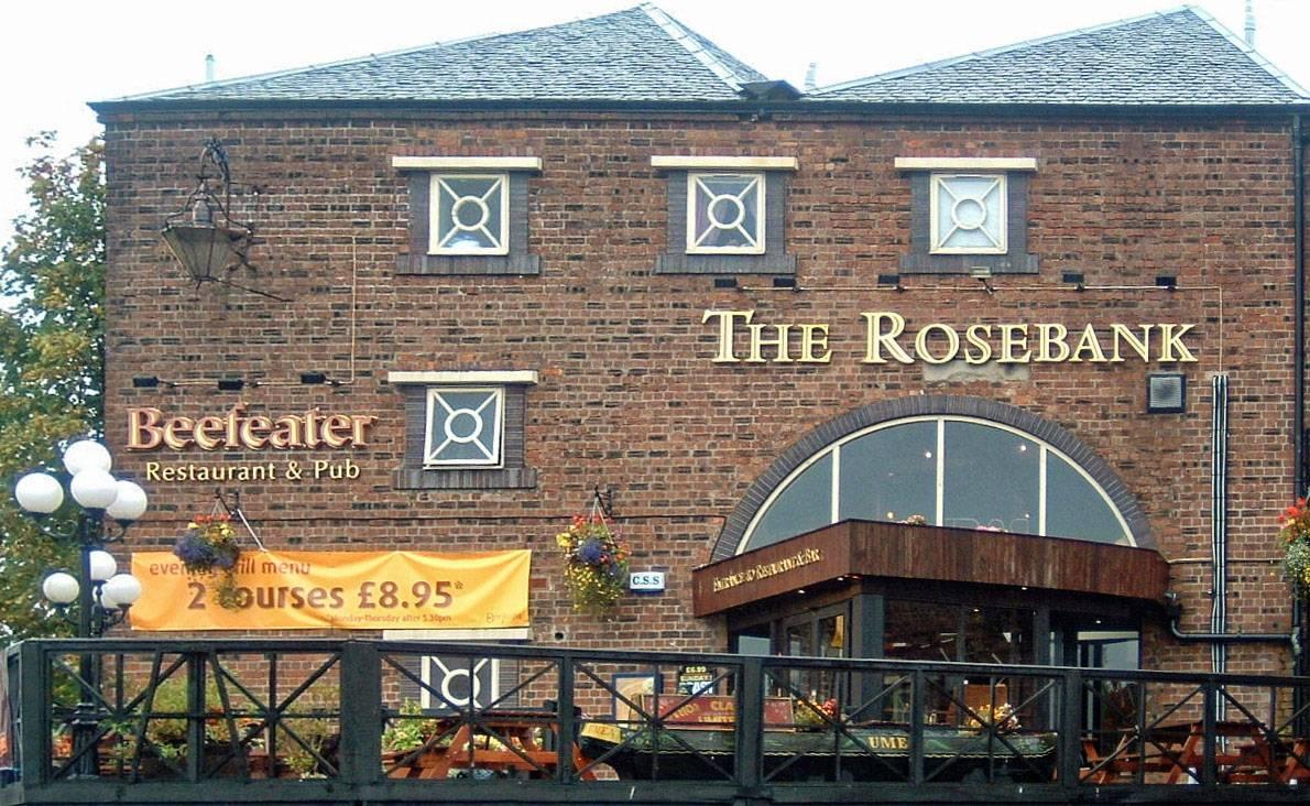 Rosebank Beefeater Eingang (ehemaliges Lagerhaus)