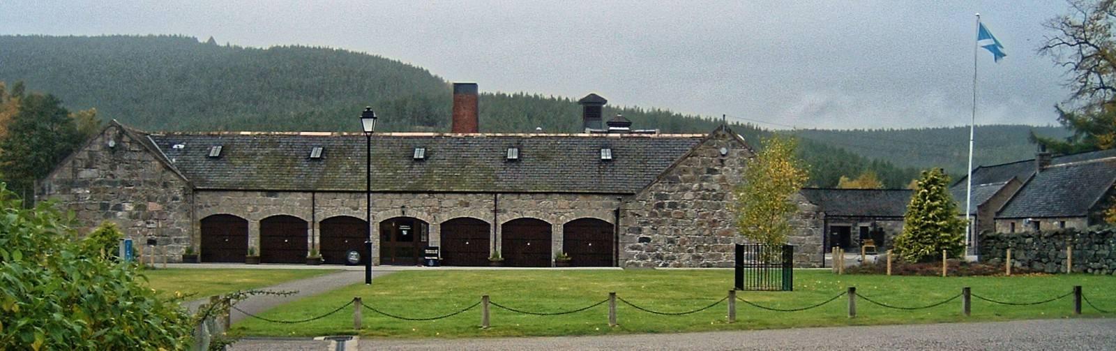 Royal Lochnagar Besucherzentrum