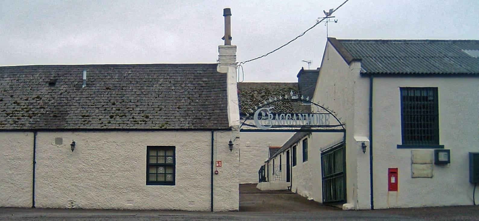 Cragganmore Eingang