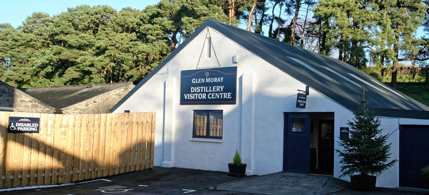 Glen Moray Besucherzentrum