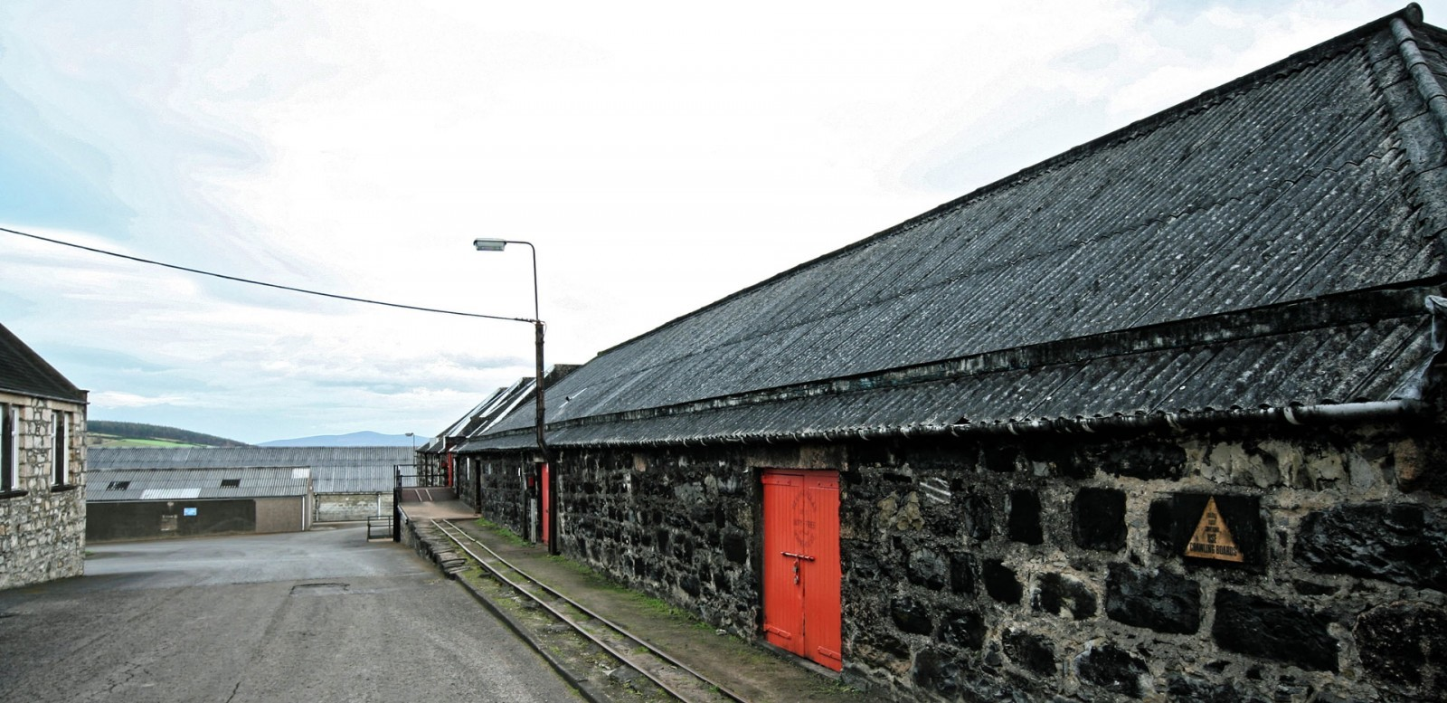 Glenfarclas Lagerhäuser
