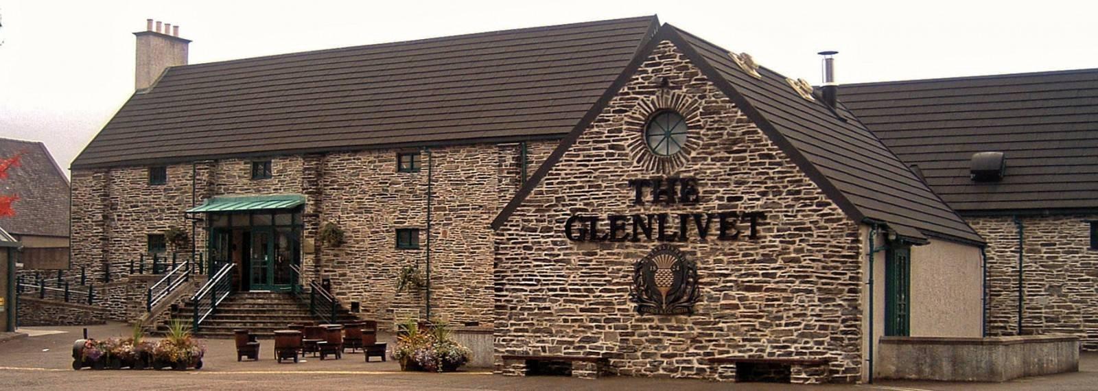 Nummer 1: Glenlivet (Besucherzentrum)