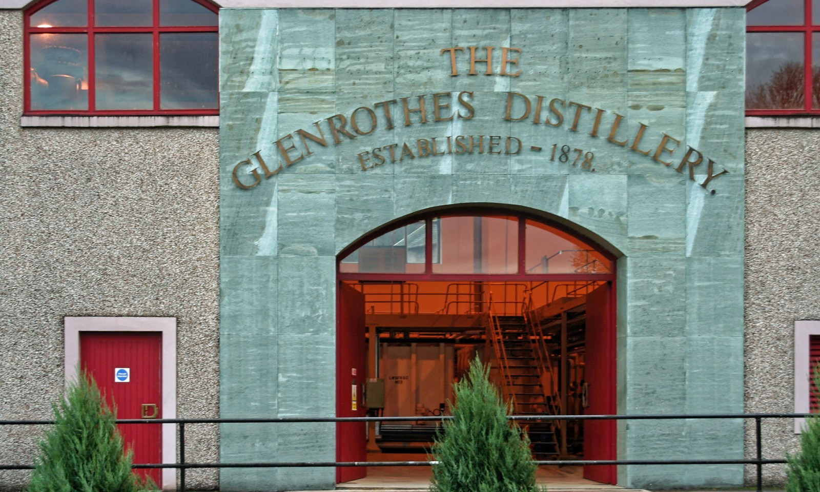 Glenrothes Stillhouse Eingang