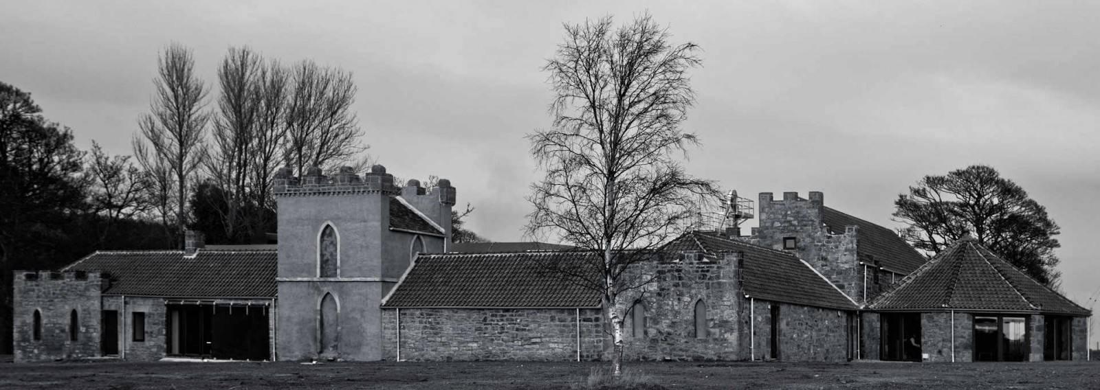 Kingsbarns Distillery: Ansicht von der Zufahrt