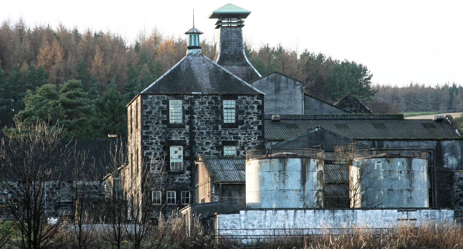 Convalmore - Kiln und andere Gebäude