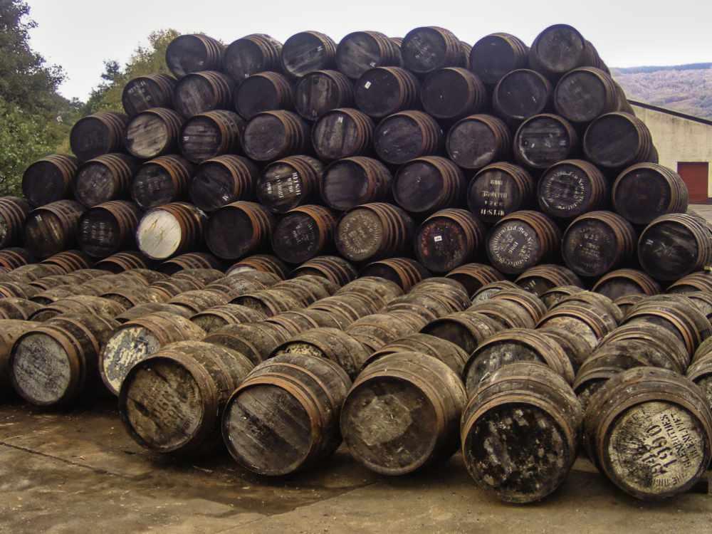 Ben Nevis Distillery - Casks