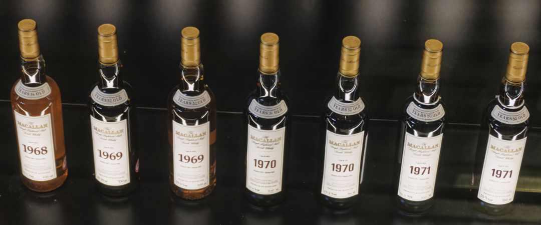 Macallan Flaschen/Bottles 1968-1971